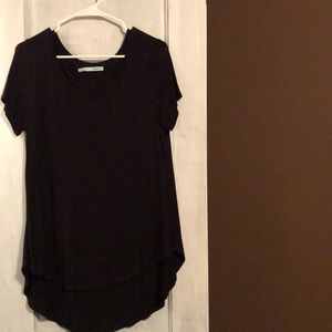 Maurices black high low top.